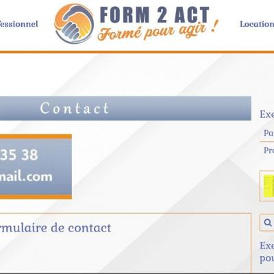 Contact form2act